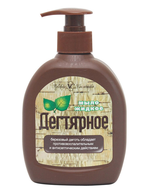 Жидкое дегтярное мыло для интимной гигиены