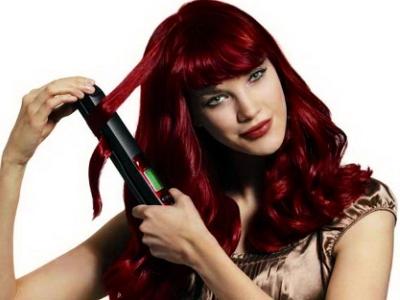 Утюжок для волос с турмалиновым покрытием